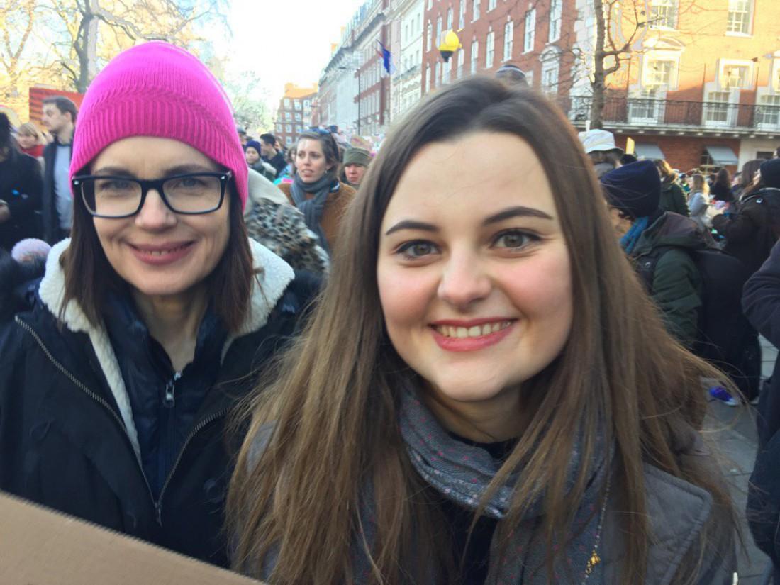 Элизабет МакГоверн с дочерью