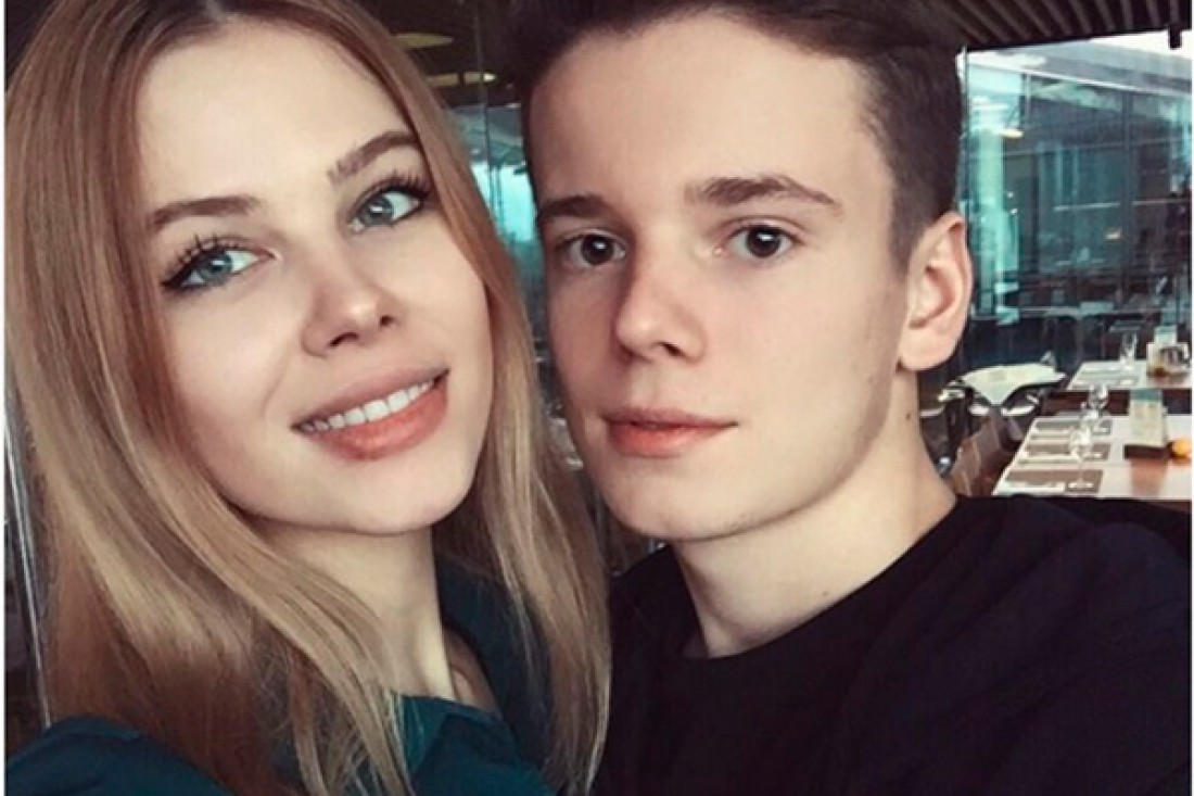 Арсений Шульгин с возлюбленной Анной Шеридан