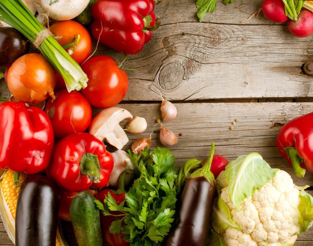 Зелень и овощи полезны для здоровья