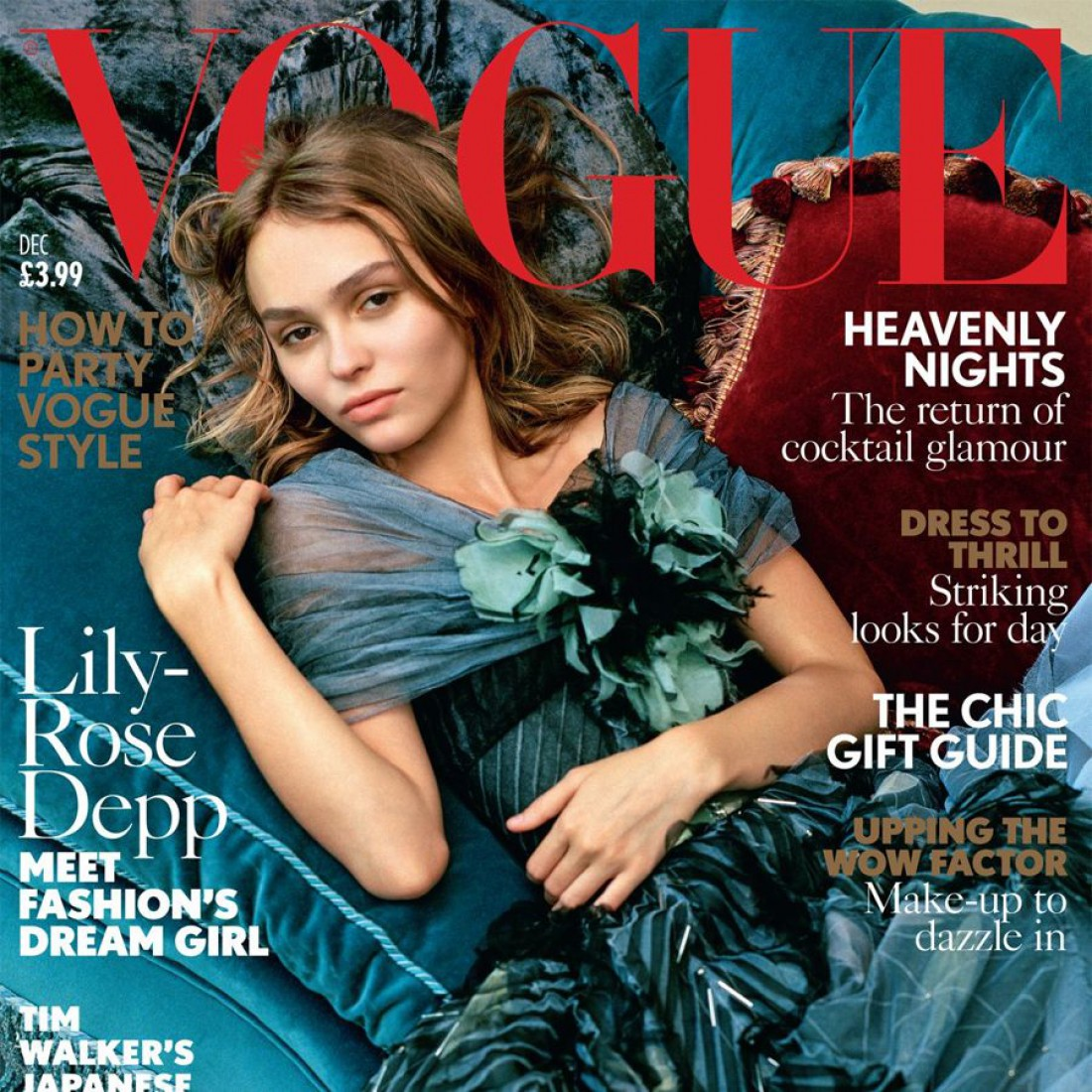 Лили Роуз-Депп в фотосете для Vogue