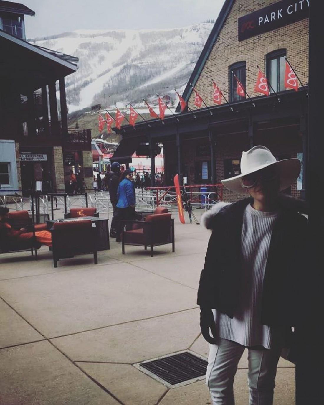 Lady Gaga отдала предпочтение горнолыжному отдыху