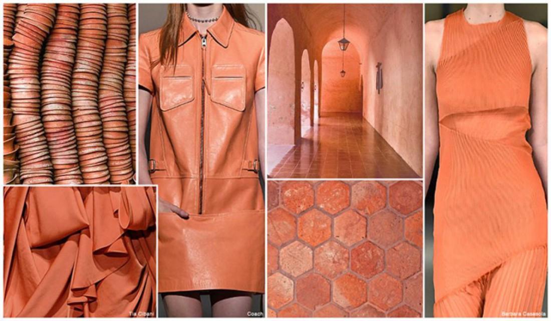 Модные цвета 2016: Пустынно-оранжевый