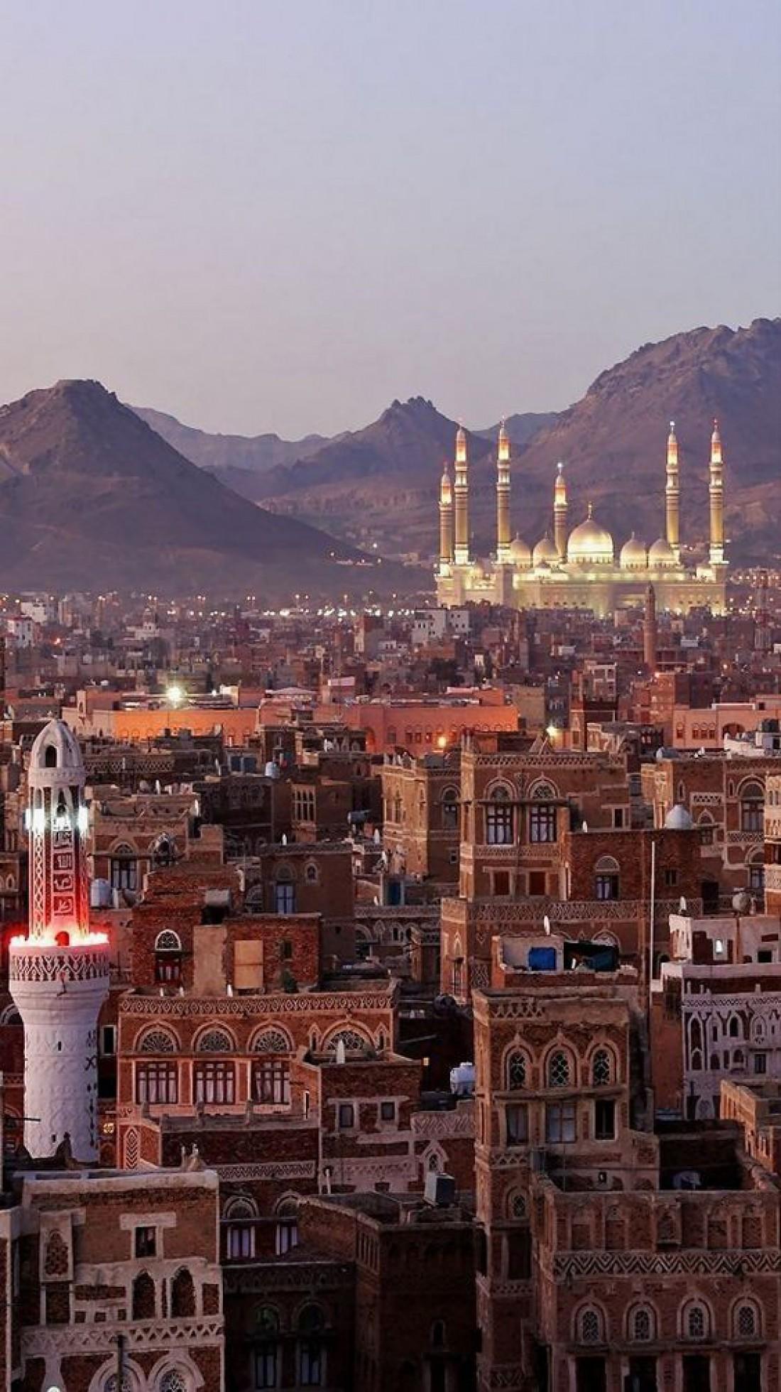 Столица Йемена - город Сана