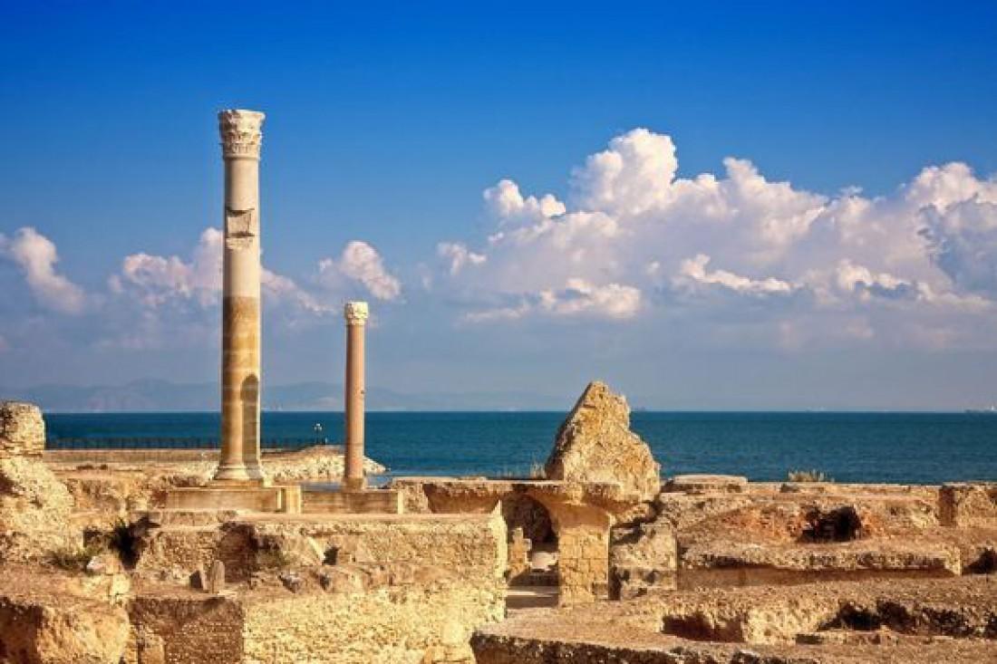 Вид на Карфаген - один из самых древних городов мира