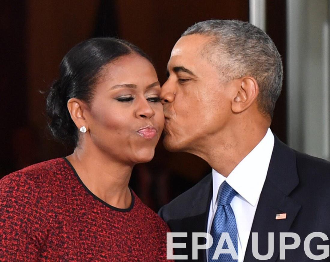Барак и Миешль Обама