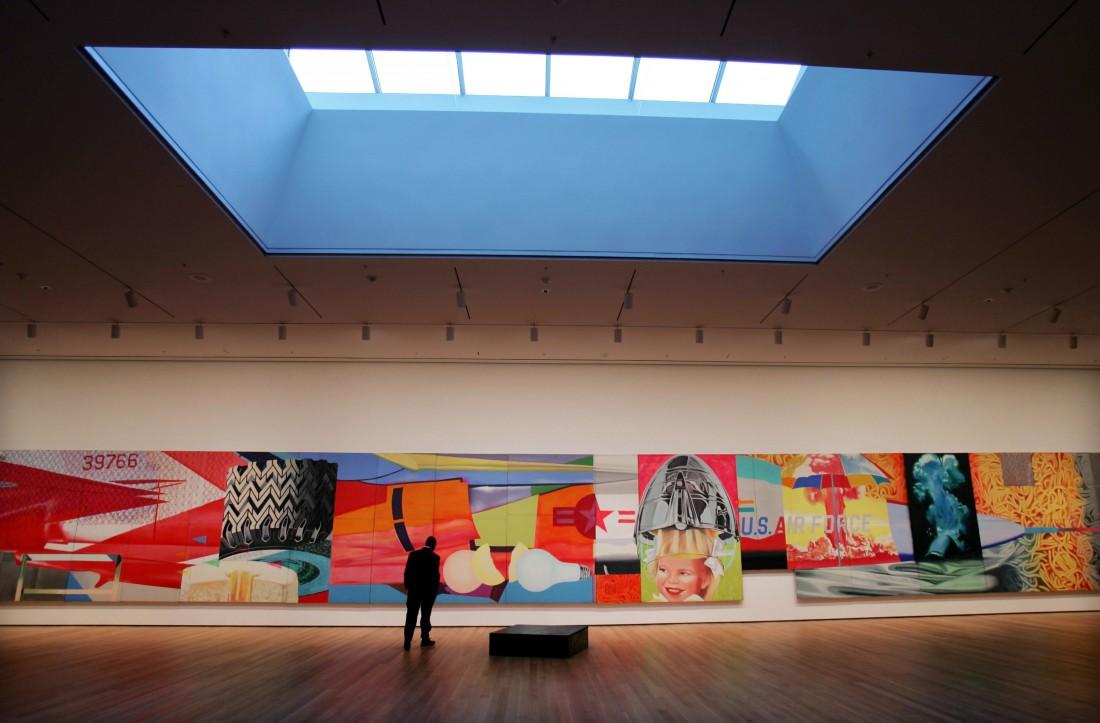 Работы художника в Музее современного искусства
