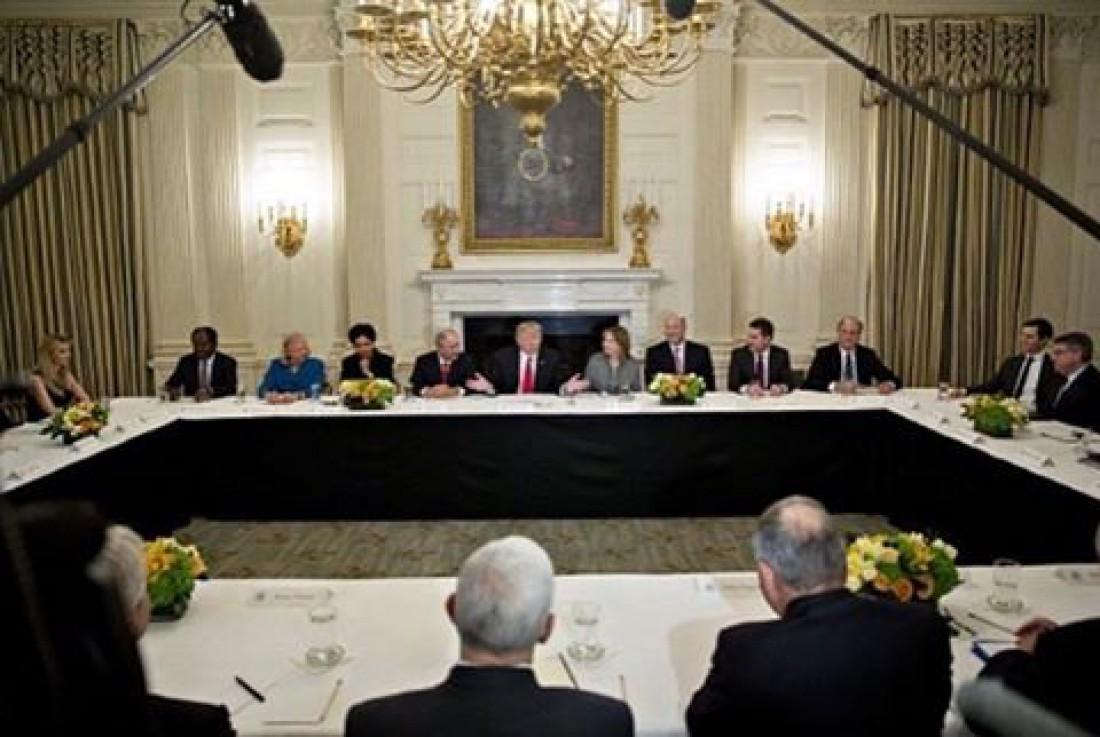 Деловая встреча в Белом доме