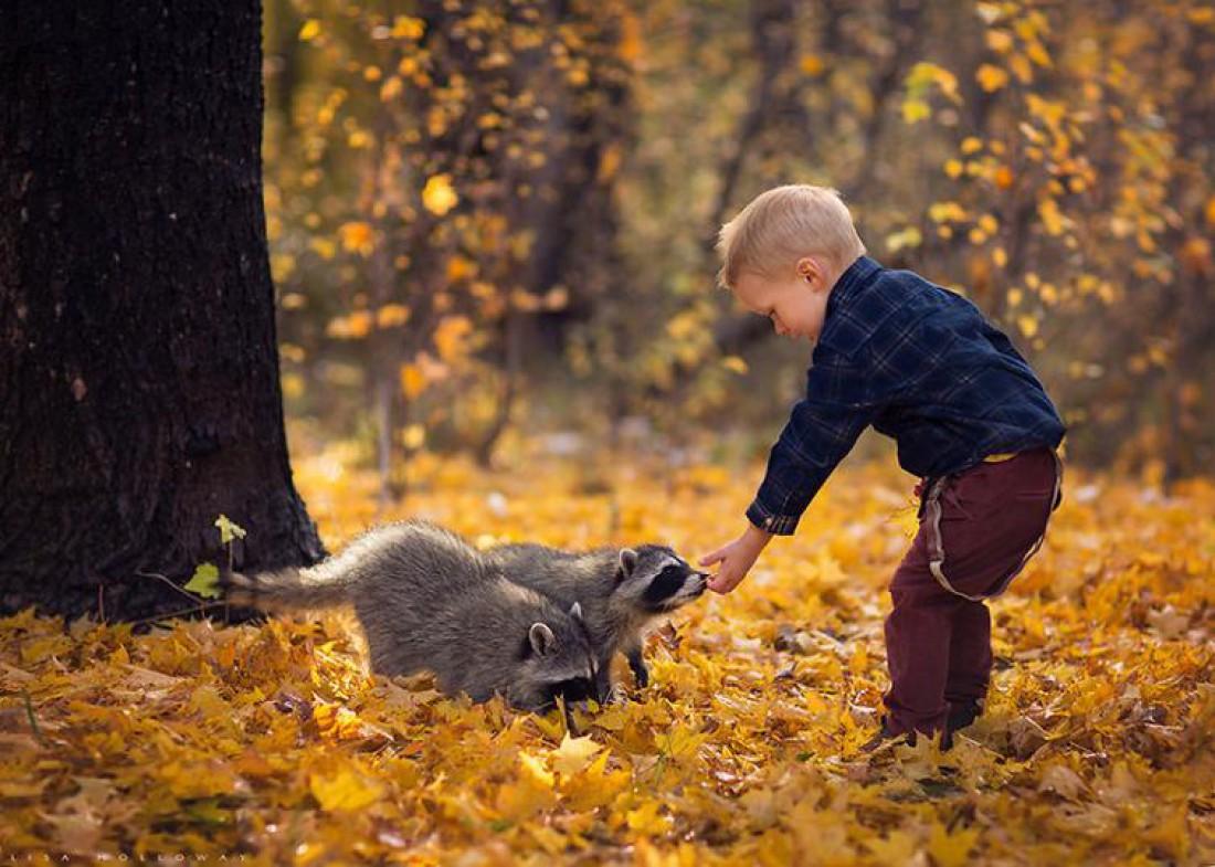 Лучшие друзья: ТОП-25  фото детей с животными