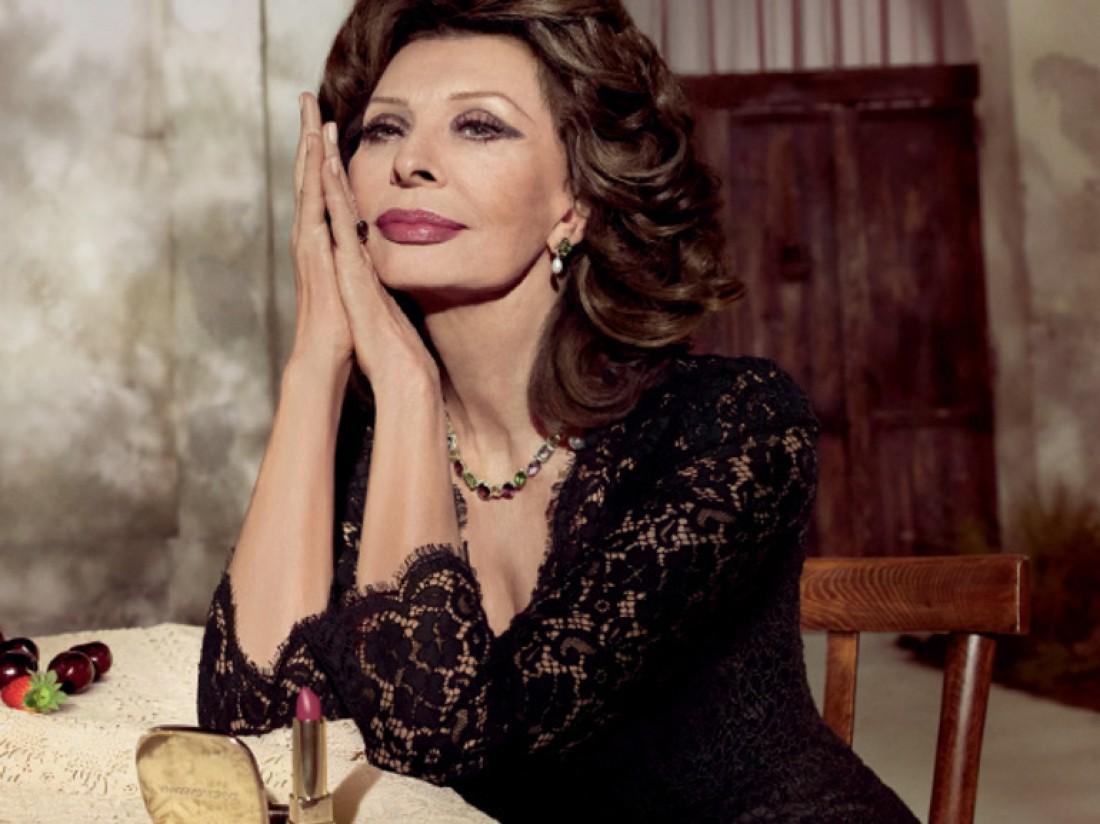 Софи Лорен снялась для Dolce & Gabbana