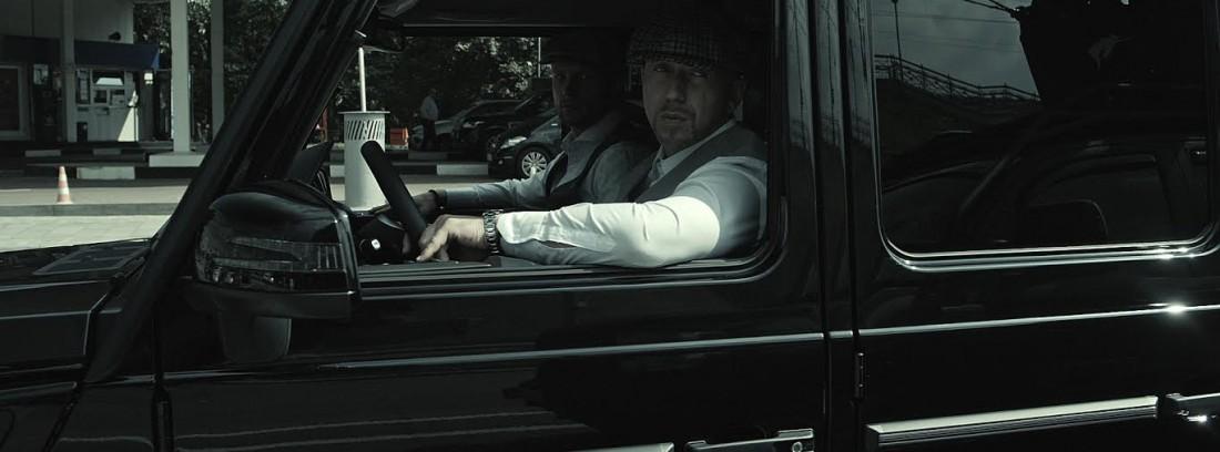 Кадр из клипа Полиграф ШарикOFF - Гелик Вани