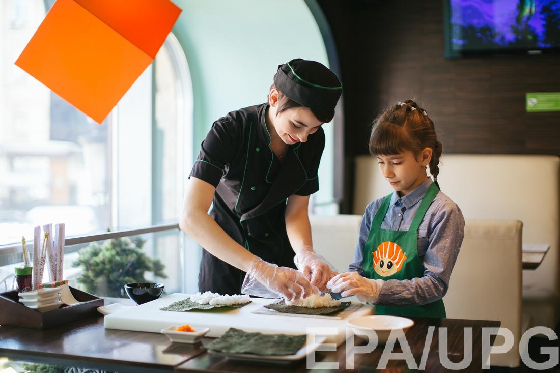 Развлечения лета: осваиваем японскую кухню