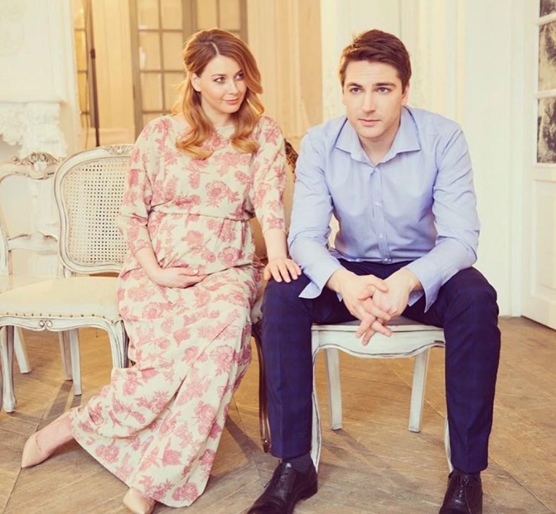 Любава Грешнова со своим супругом
