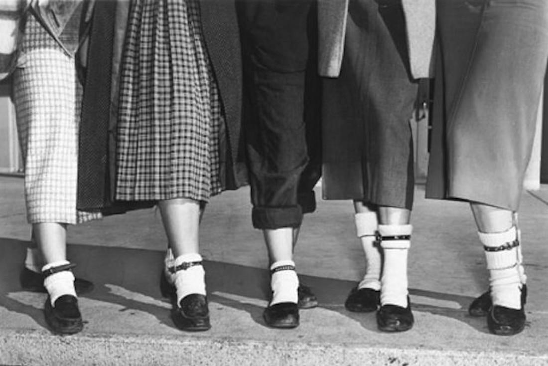 Самой модной обувью молодежи 50-х были пенни-лоферы