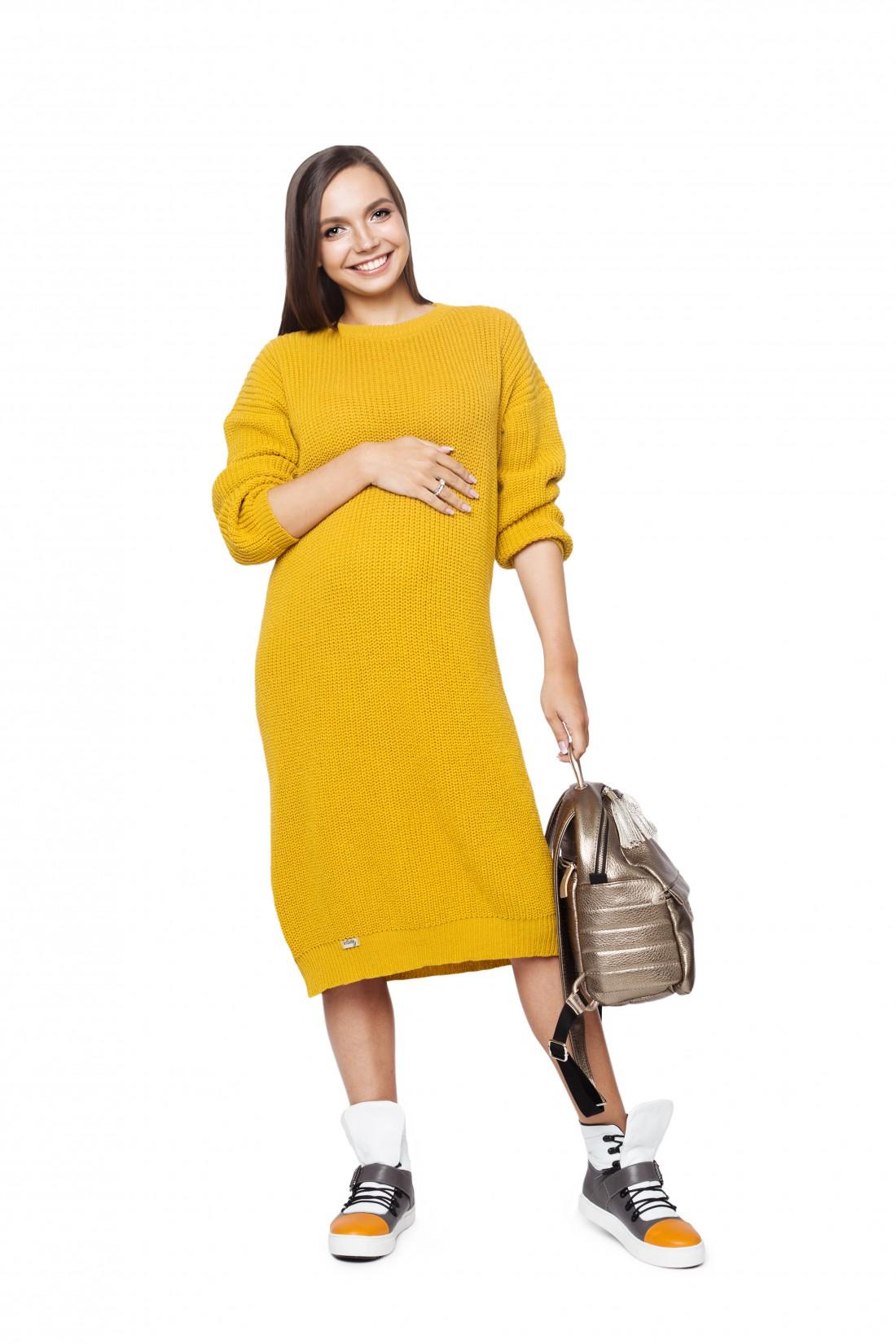 Базовый гардероб для беременной: платье