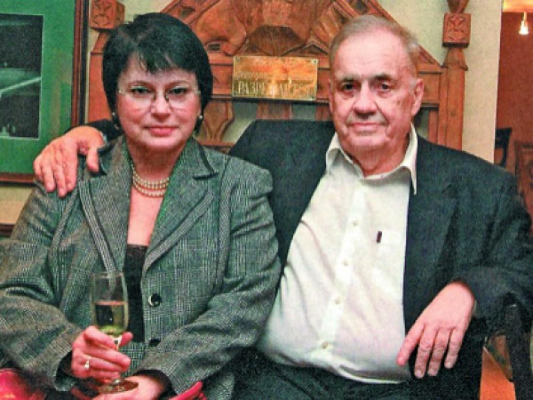 Ольга Рязанова и Эльдар Рязанов