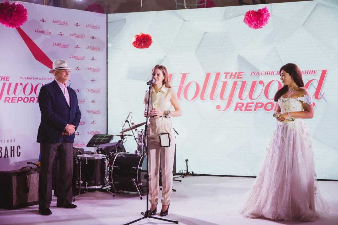 Ирина Старшенбаум получает свой приз