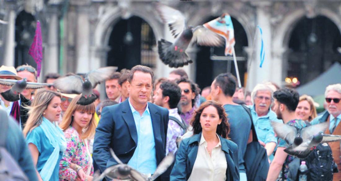 Инферно: съемки во Флоренции