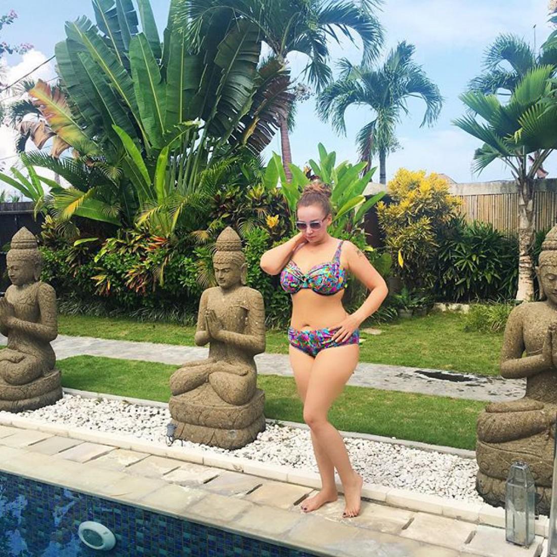 Анфиса отдыхает на Бали