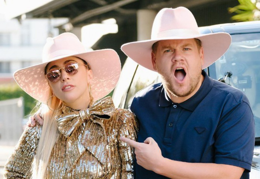 Леди Гага спела вCarpool Karaoke