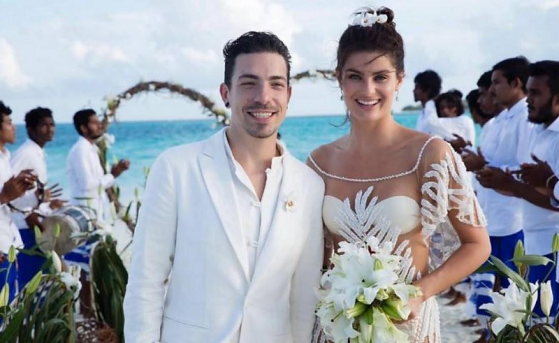Изабели Фонтана и ее муж Диего Ферреро