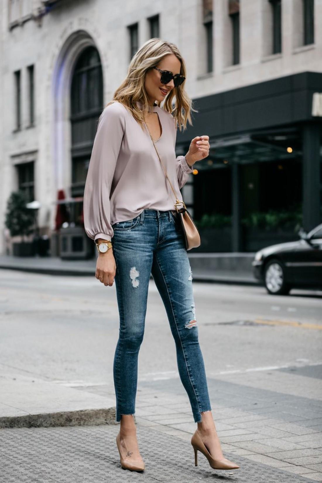 Базовые вещи весны: джинсы
