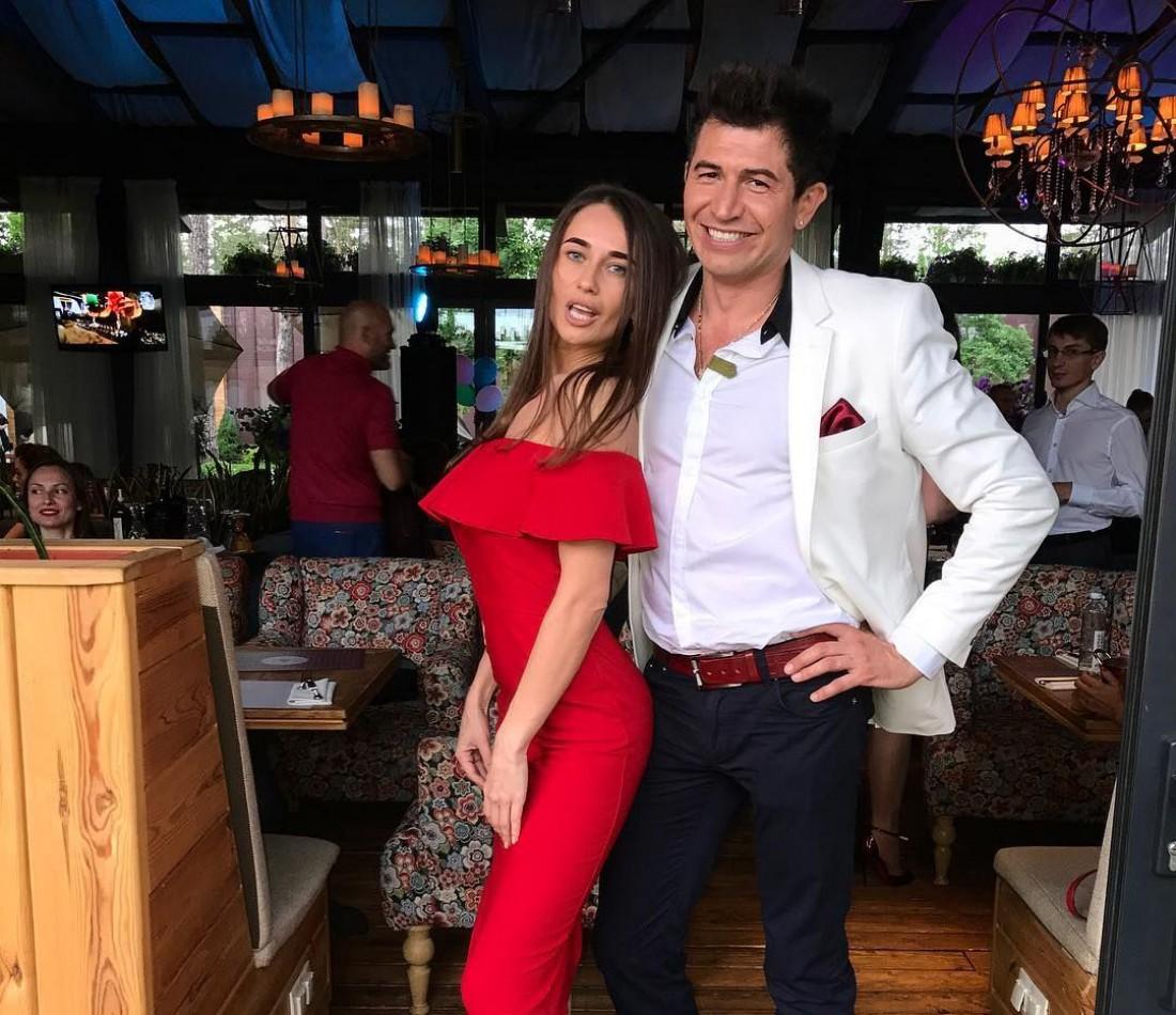 Андрей Джеджула и его девушка