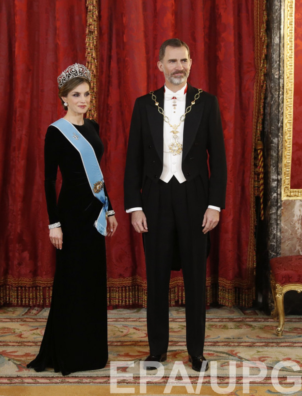 Король Филипп VI и королева Летиция
