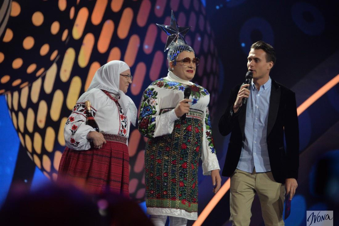 Александр Скичко и Верка Сердючка