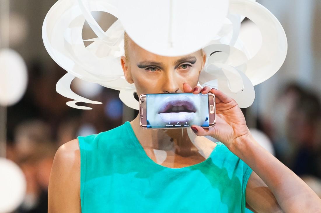 Технологии в мире моды: показ ZALEVSKIY