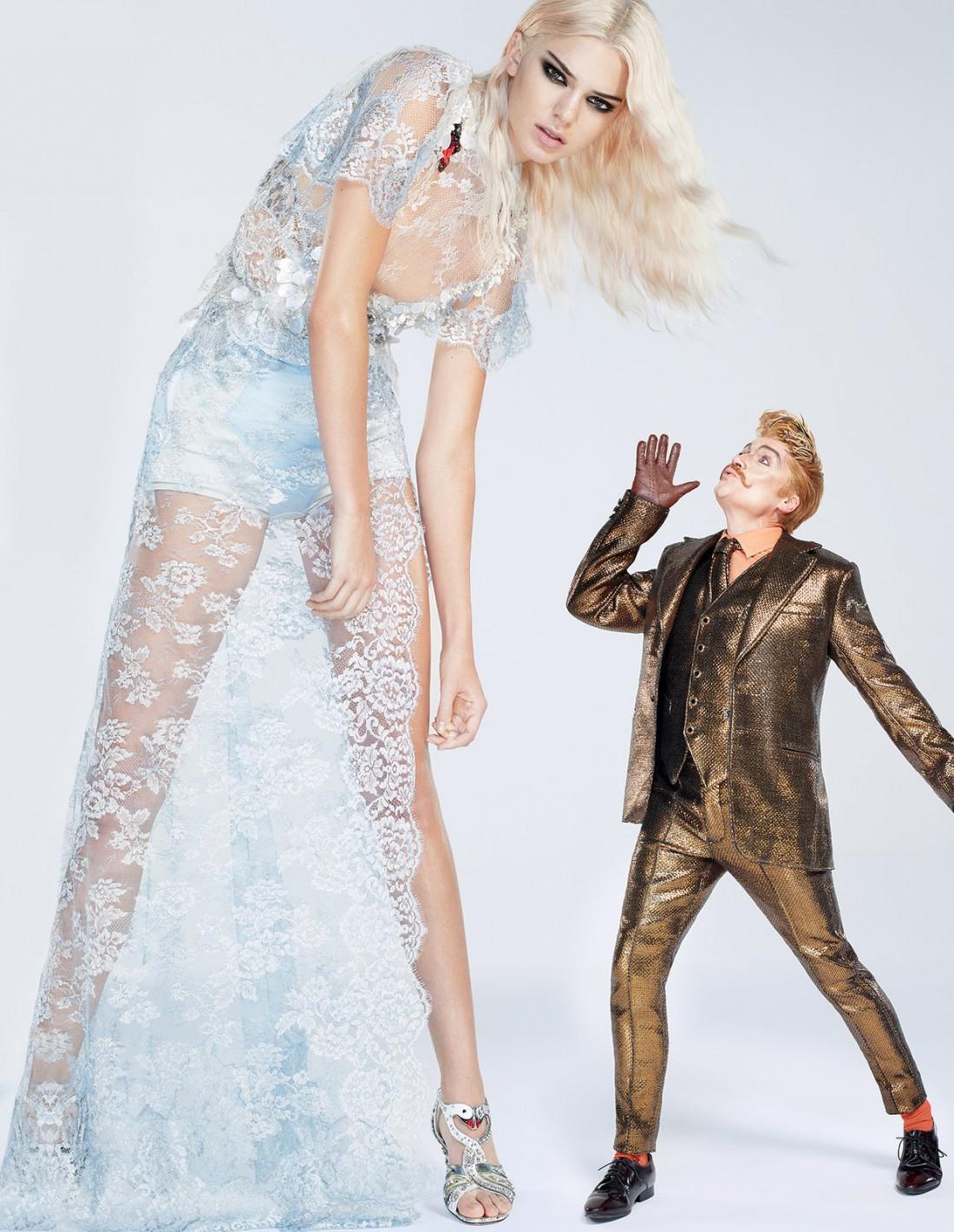 Кендалл Дженнер примерила образ Алисы в стране чудес