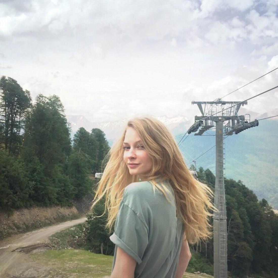 Ходченкова - блондинка