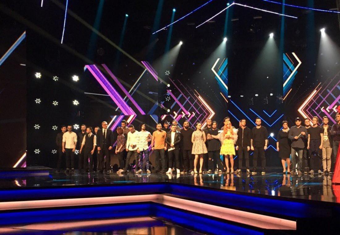 Х-фактор 7 сезон 1 прямой эфир: участники ждут результатов