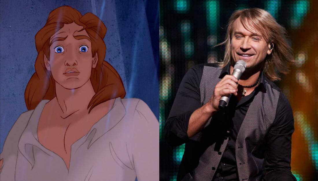 Олег Винник – принц Адам (Красавица и Чудовище)