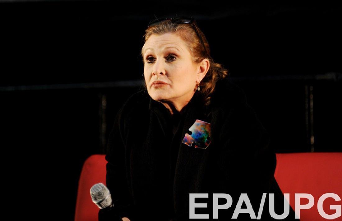 Скончалась исполнительница роли принцессы Леи в«Звездных войнах»