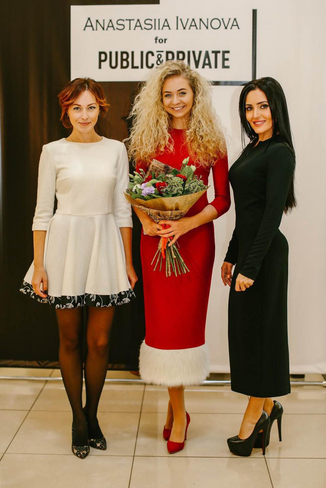 Показ капсульной коллекции Анастасии Ивановой посетила Анна Добрыднева