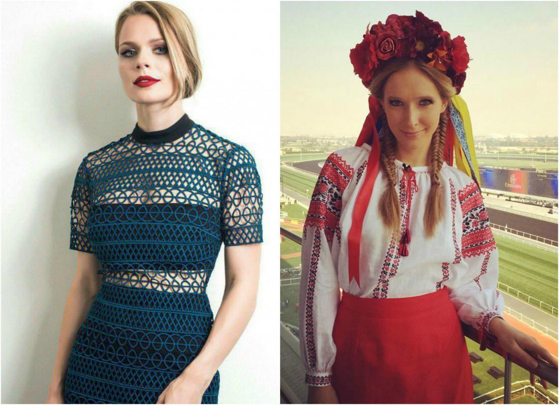 Ольга Фреймут и Катя Осадчая