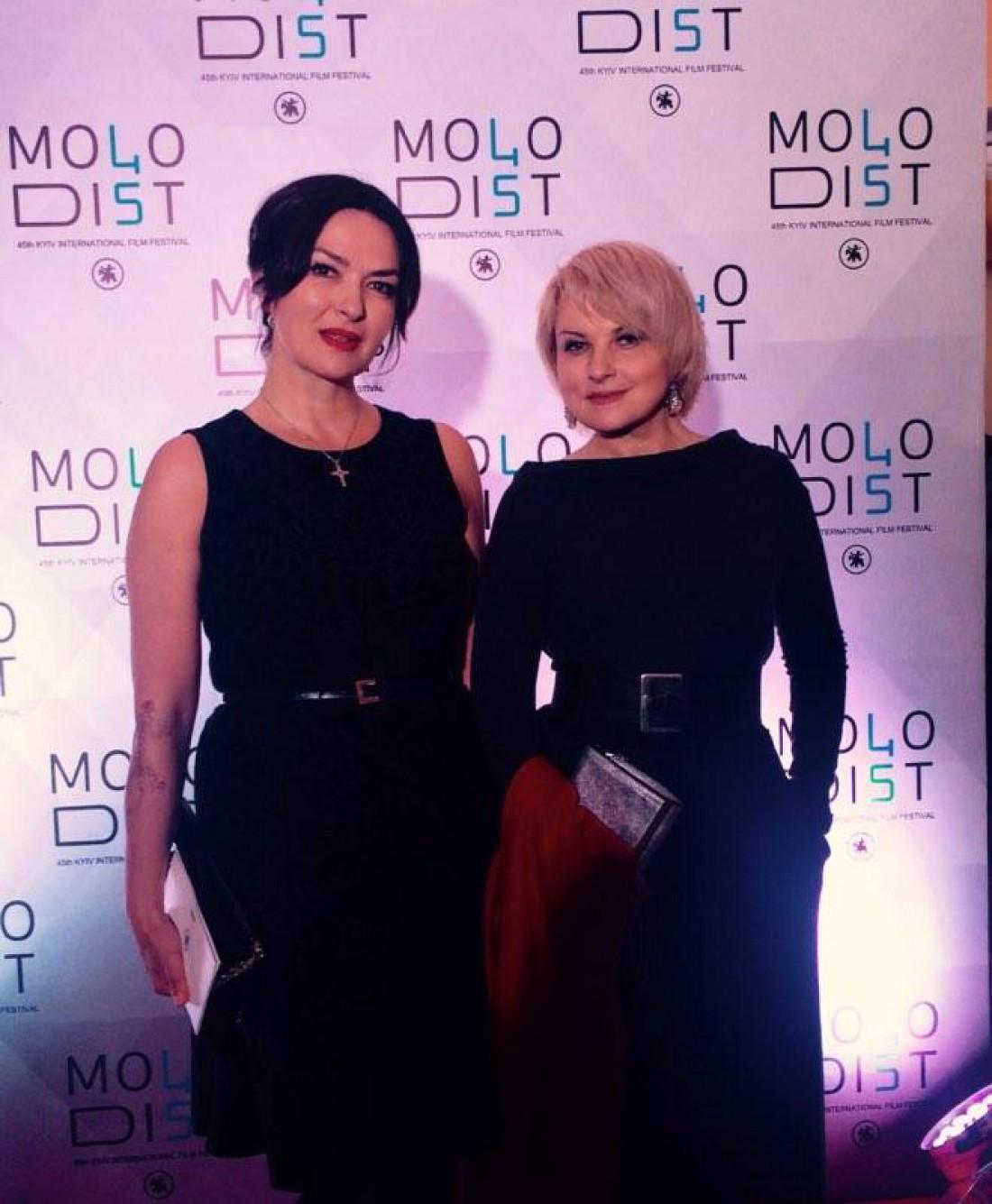 Лариса Губіна та Марія Бурмака