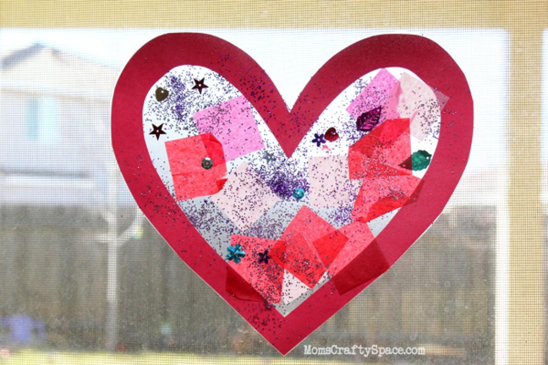 Сердце из подручных материалов