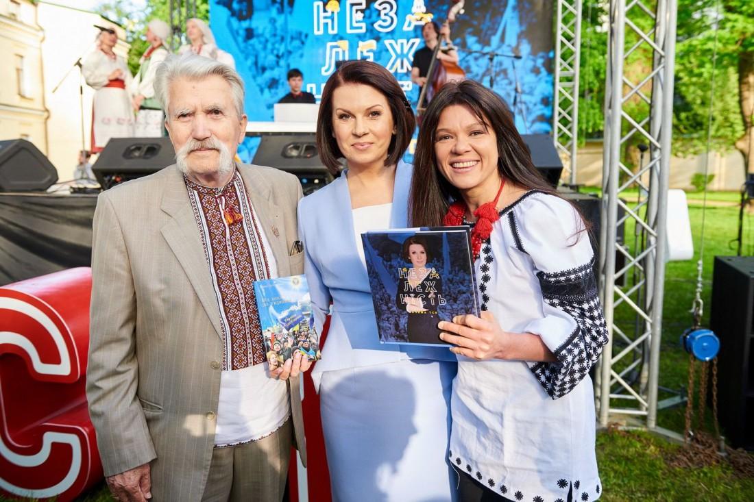 Левко Лук'яненко, Алла Мазур і Руслана
