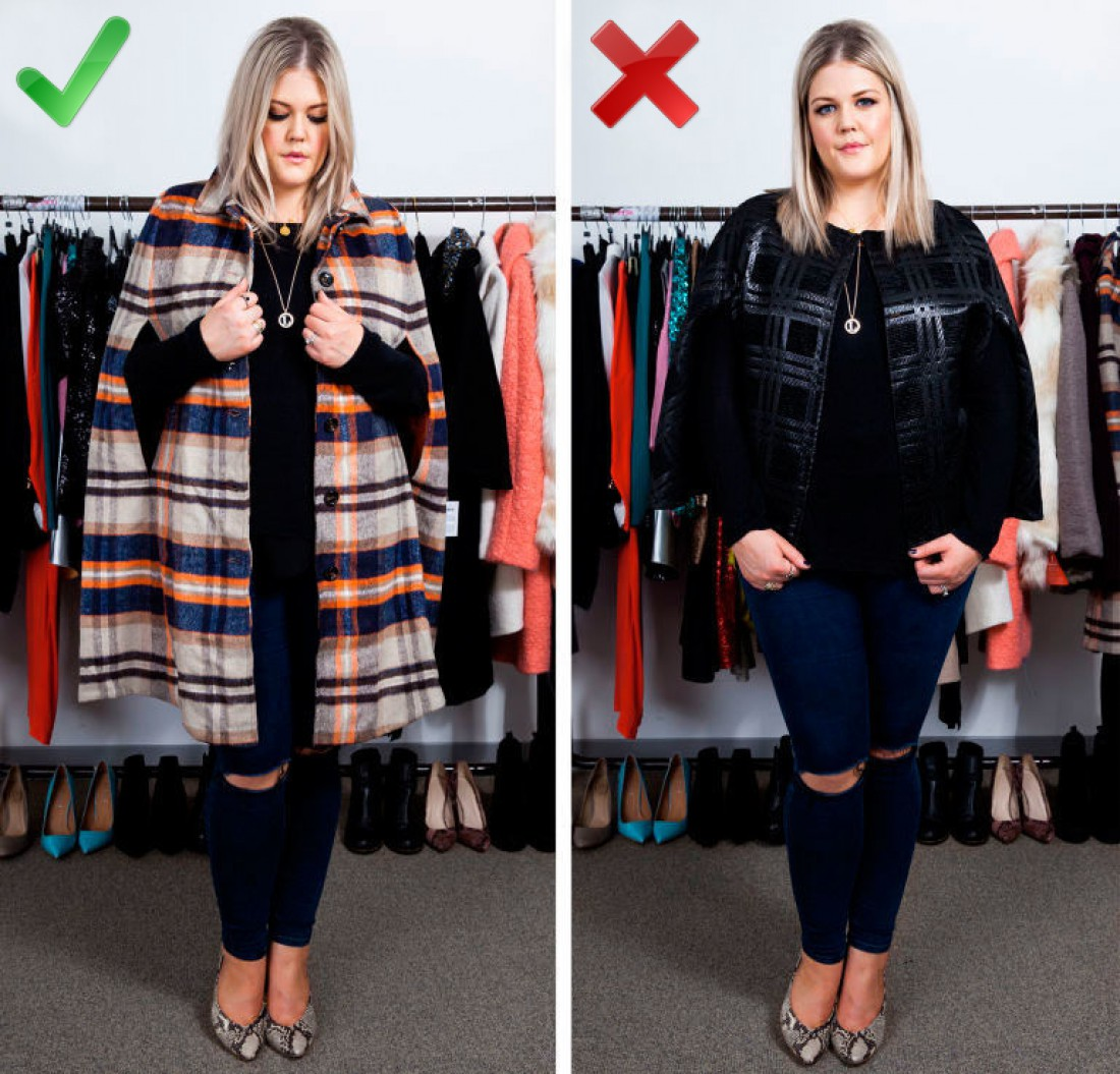 Мода для полных: как выглядеть стильно в пальто