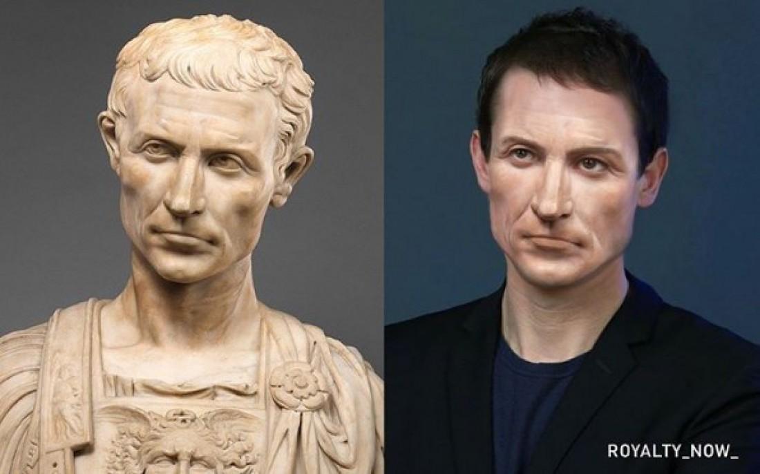 Как бы выглядел Гай Юлий Цезарь сегодня?