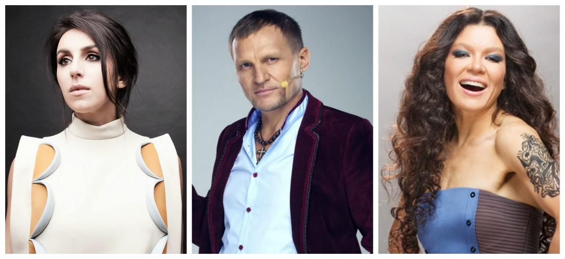 Украинские исполнители Джамала, Олег Скрипка и Руслана под запретом в Крыму