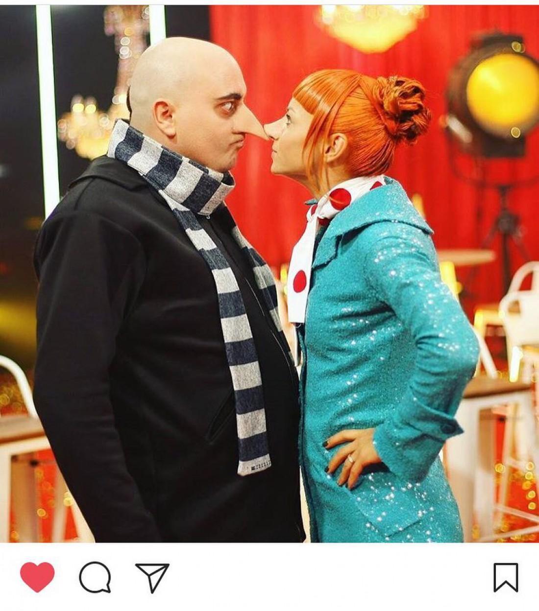 Юрий Ткач и Илона Гвоздева
