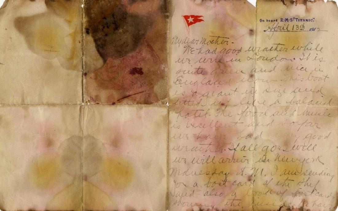 Письмо Александра Оскара Хольверсона