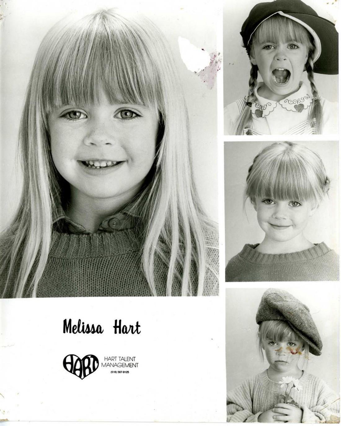 Мелисса в детстве
