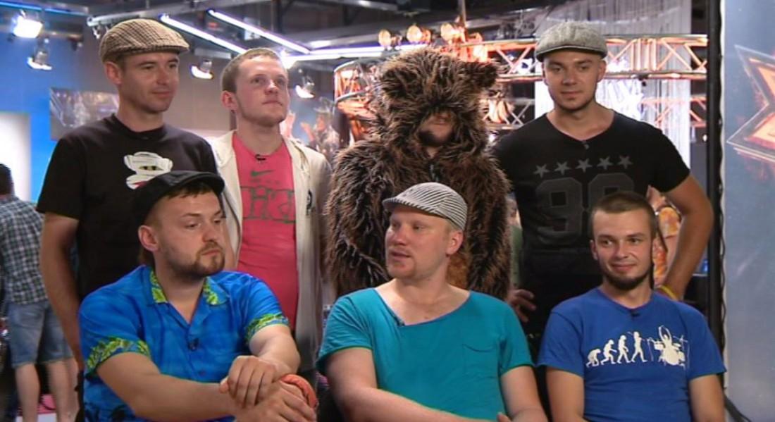 Х-фактор 7 сезон 5 выпуск: группа приехала из Житомира