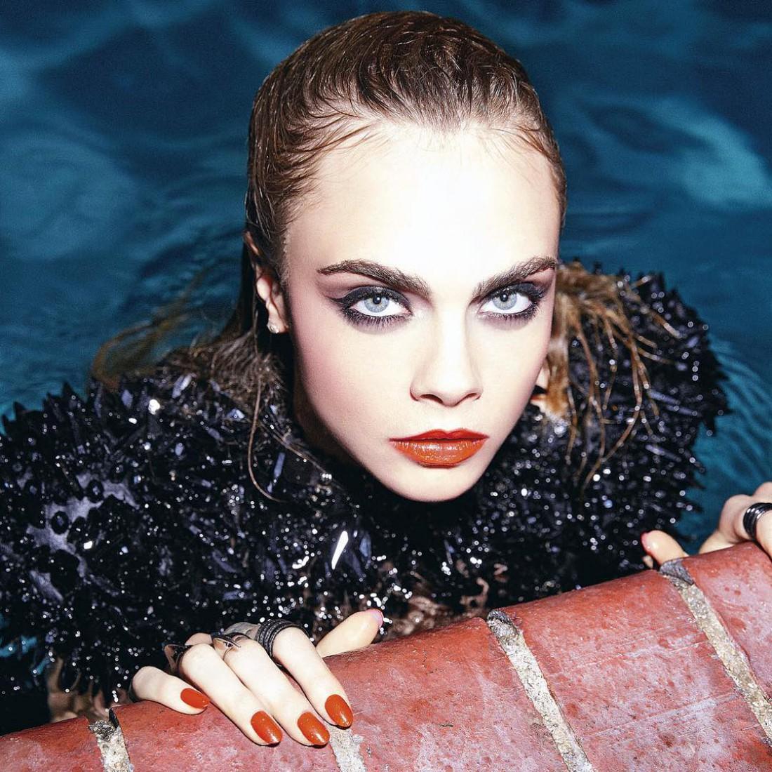 Кара Делевинь: я заметила, что модельный бизнес вгоняет меня в депрессию