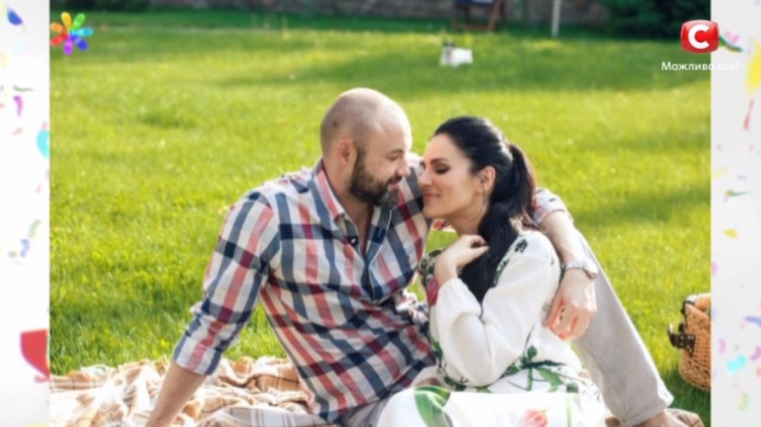 Маша с мужем Тимуром