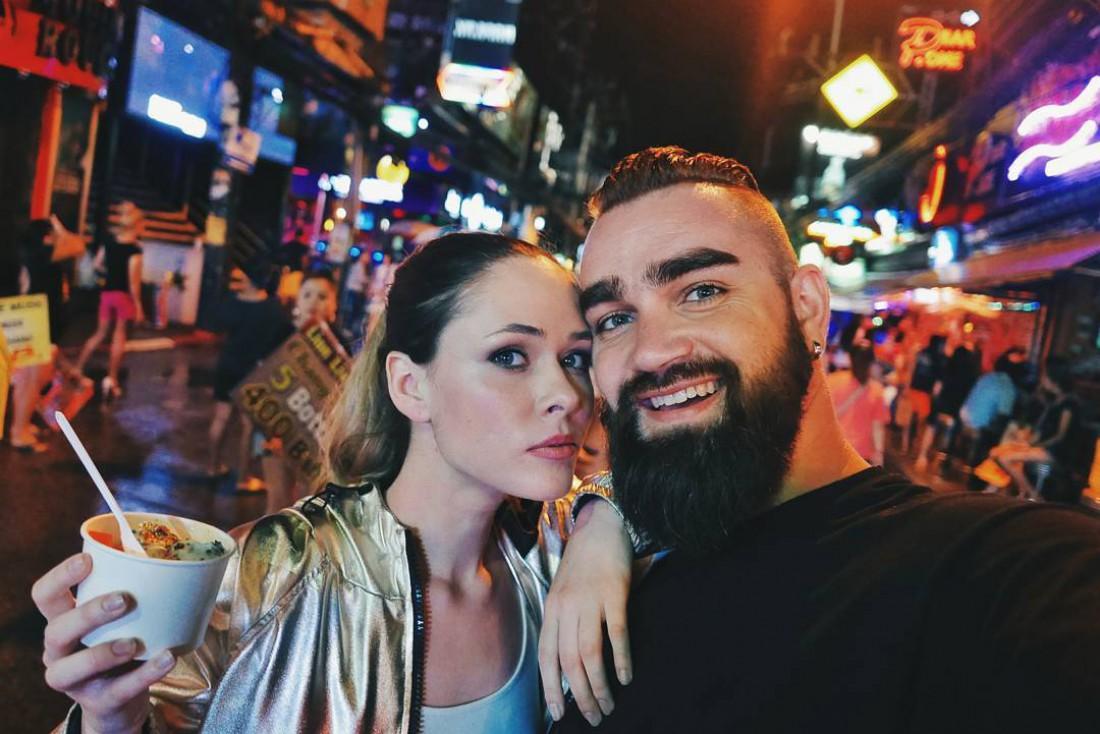 Юлия Санина с мужем Валерием Бебко