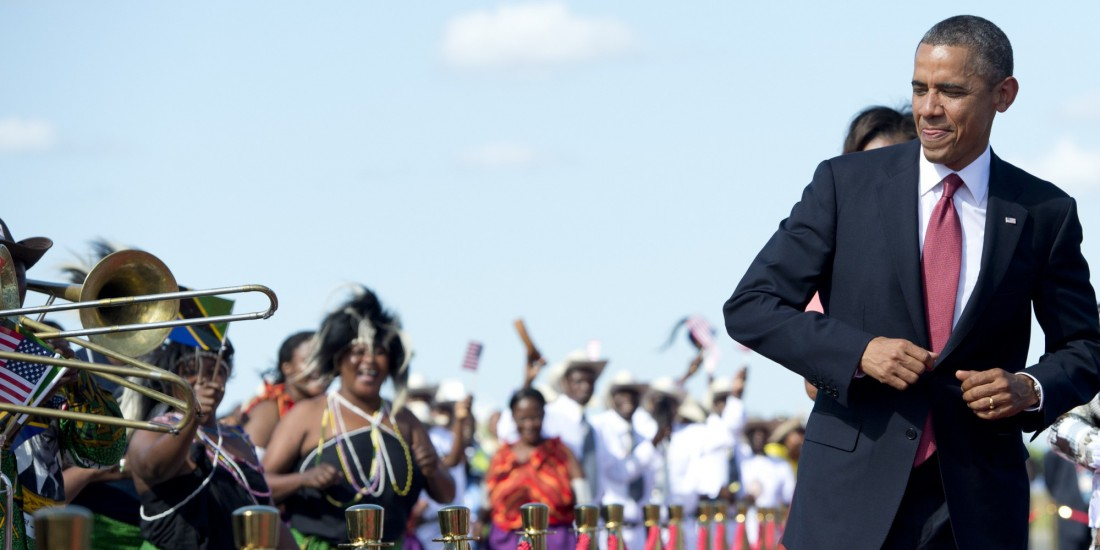 Барак Обама любит слушать музыку